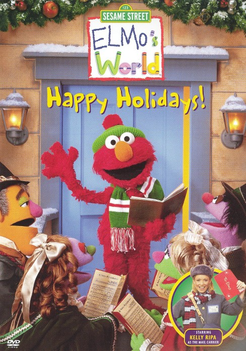 Sesame Street: Elmo's World - Happy Holidays! (dvd_video) - image 1 of 1