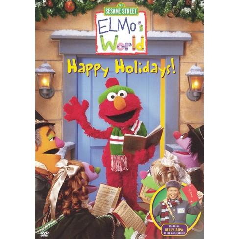 Sesame Street Elmo S World Happy Holidays Dvd Video