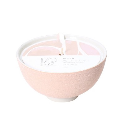 7.8oz Bowl Candle Mesa Warm Incense & Musk - Project 62™