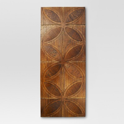Mid-Century Pieced Wood 30x12  - Threshold™