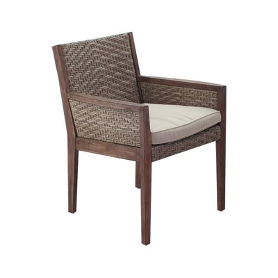 Buena Vista Dining Chair- Taupe - Courtyard Casual