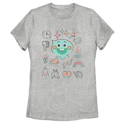 Women's Soul 22 Emoji Manual T-Shirt