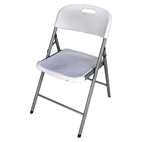Cool Folding Chair Off White Plastic Dev Group Ncnpc Chair Design For Home Ncnpcorg