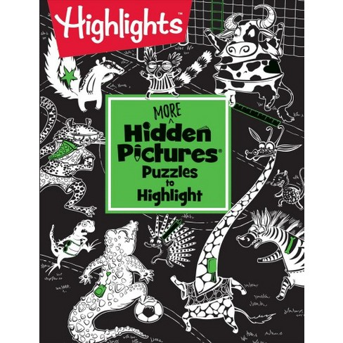 More Hidden Pictures Puzzles To Highlight Paperback Target