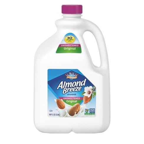 Blue Diamond Almond Breeze Unsweetened Original Almond Milk - 96 fl oz - image 1 of 1