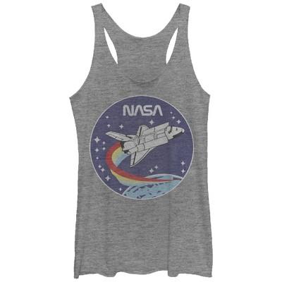 Women's NASA Space Rocket Racerback Tank Top