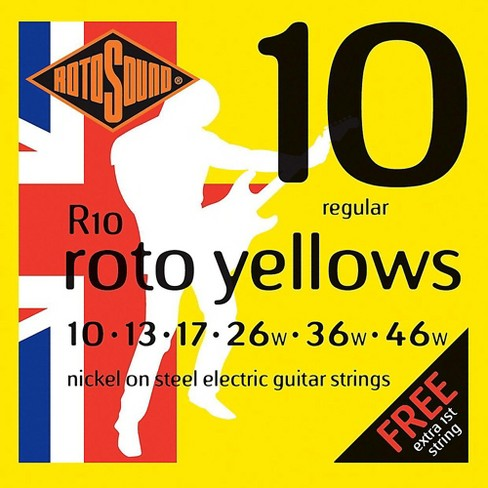 Rotosound Roto Yellows Electric Guitar Strings - image 1 of 1