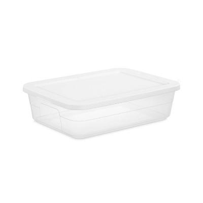 28qt Clear Under Bed Storage Box White - Room Essentials™