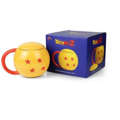 Dragon Ball Z 4-Star Dragon Ball Ceramic Mug With Lid