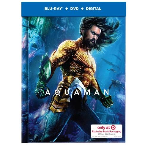 Aquaman Exclusive (Blu-Ray + DVD + Digital) - image 1 of 3