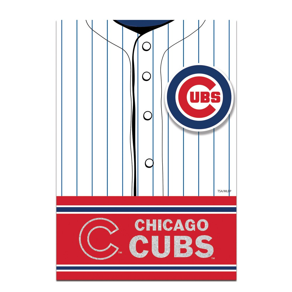 Chicago Cubs Two Sided Jersey House Flag