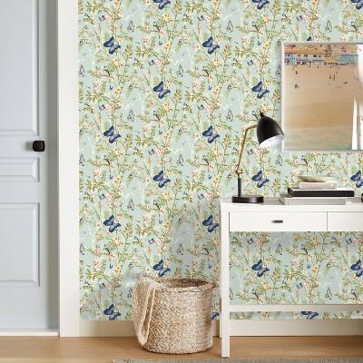 Almond Finches Peel & Stick Wallpaper - Threshold™