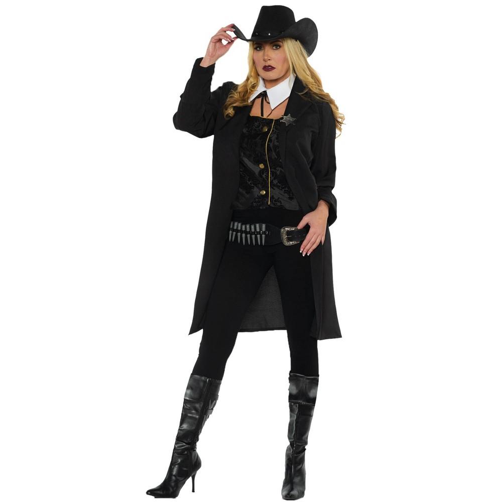 Adult Gunslinger Halloween Costume S