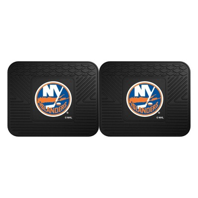 NHL New York Islanders Vinyl Utility Mat Set - 2pc