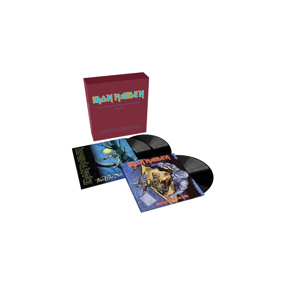 Iron maiden - Complete albums collection 1990-2015 (Vinyl)
