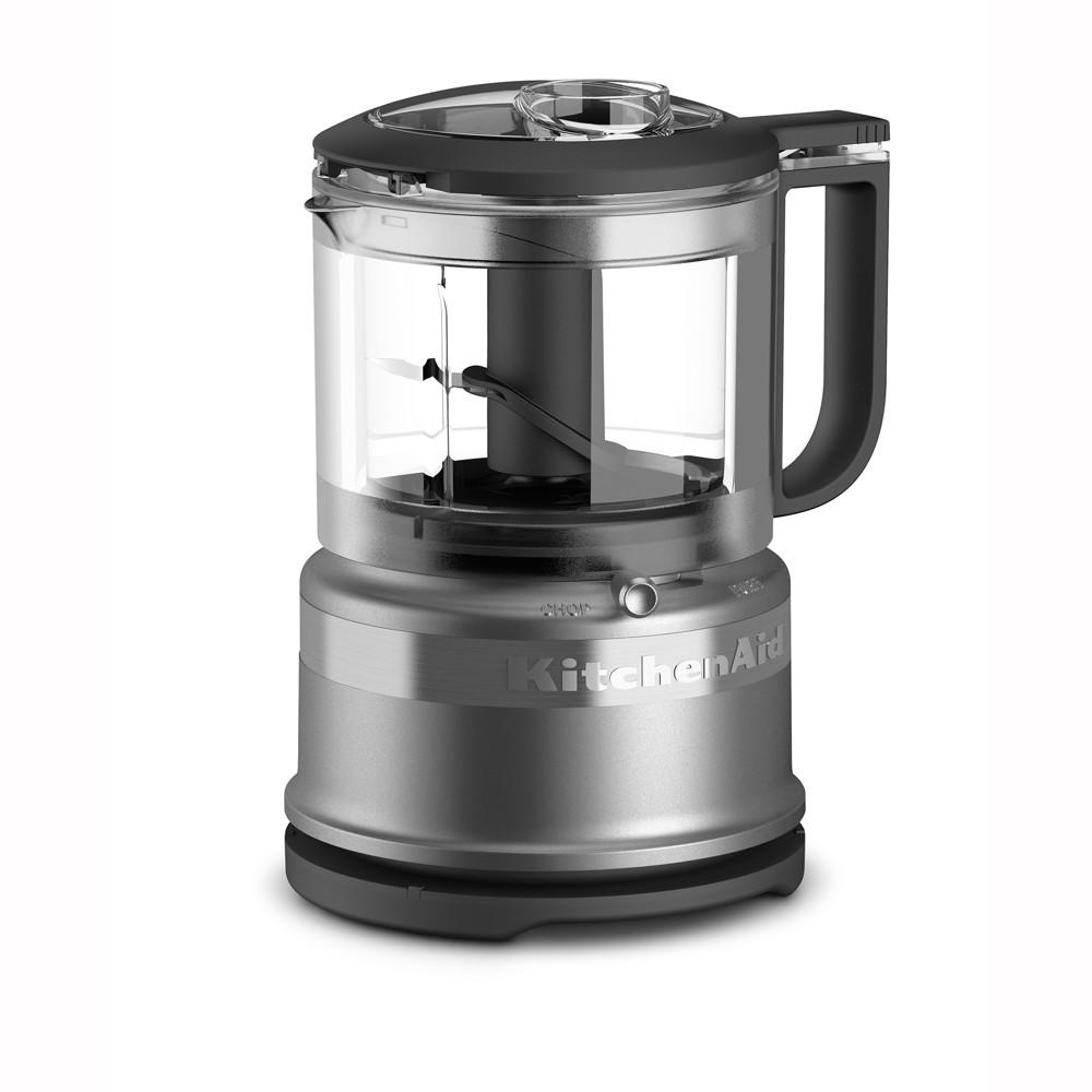 KitchenAid Refurbished 3.5 Cup Mini Food Processor – Silver RKFC3516CU 53422672