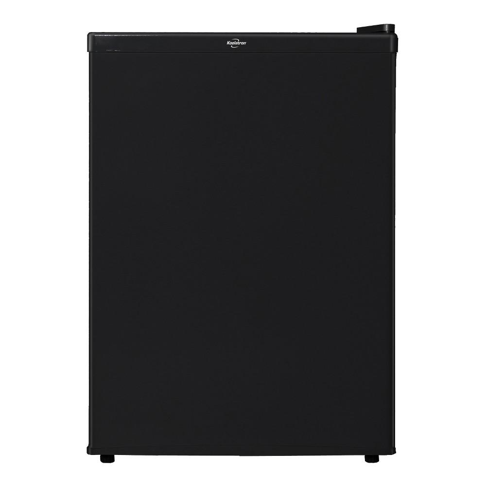 Koolatron Compact Refrigerator Black - 2.4 cubic feet