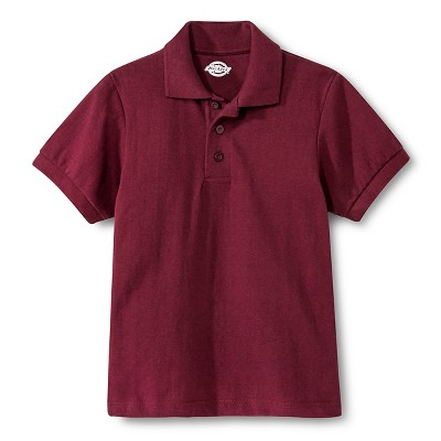 Dickies Boys' Pique Uniform Polo Shirt