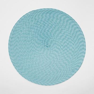 19 x14  Polyround Placemat Aqua - Threshold™