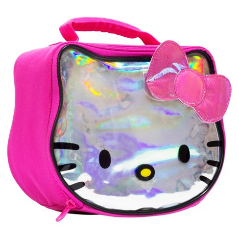 5b767ad43d Hello Kitty® Lunch Bag with Hologram and Sequins