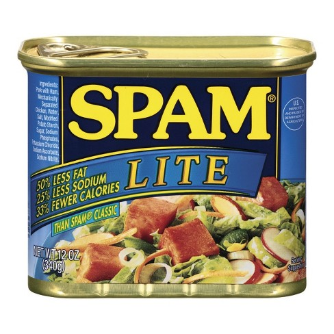 Spam Lite Lunch Meat 12 oz - image 1 of 1