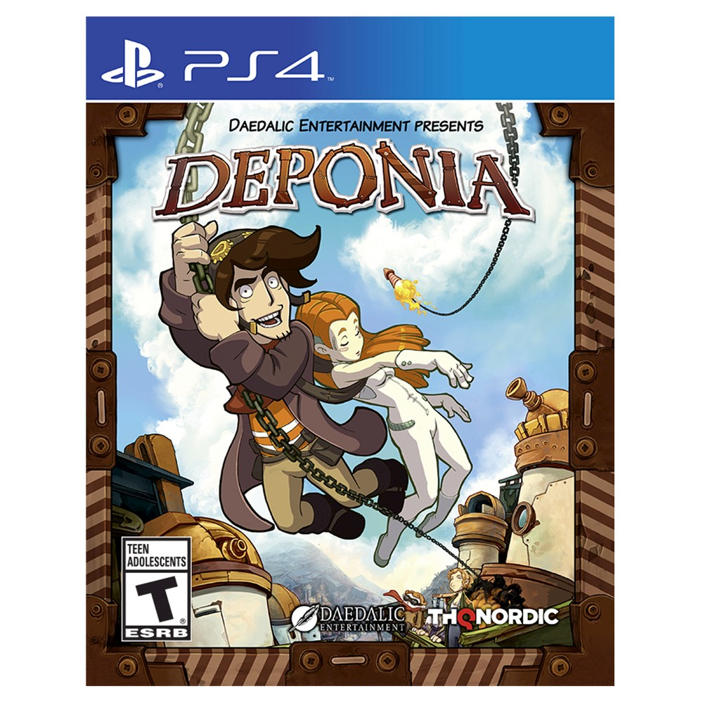 Deponia PlayStation 4, Video Games