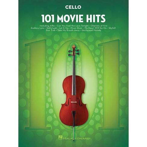 101 Movie Hits for Cello - (Paperback) - image 1 of 1