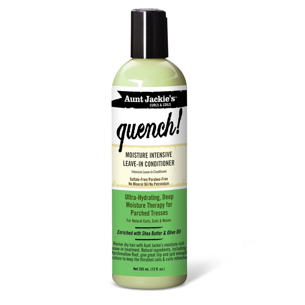 Image of Aunt Jackie's Curls & Coils Quench Moisture Intensive Leave-In Conditioner - 12 fl oz