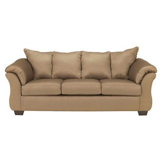Darcy Full Sofa Sleeper - Mocha - Signature Design by Ashley