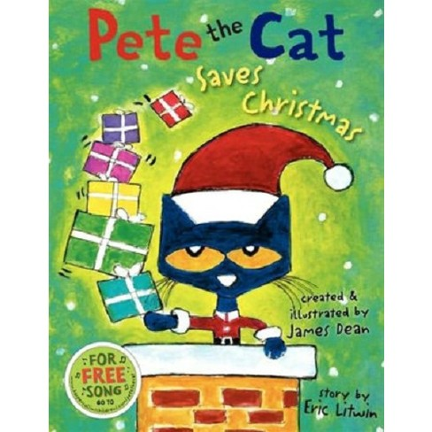 about this item - Pete The Cat Saves Christmas