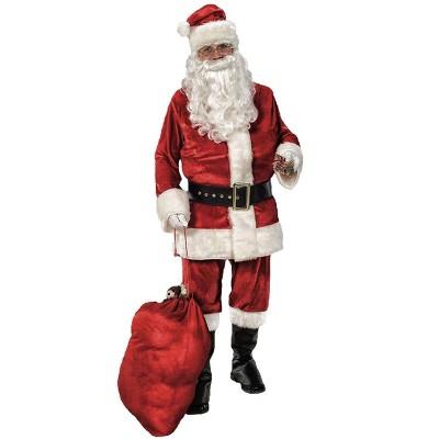 Rubies Deluxe Velvet Santa Suit Adult Mens