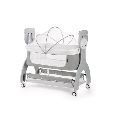 Dream On Me Cub Portable Bassinet - Gray