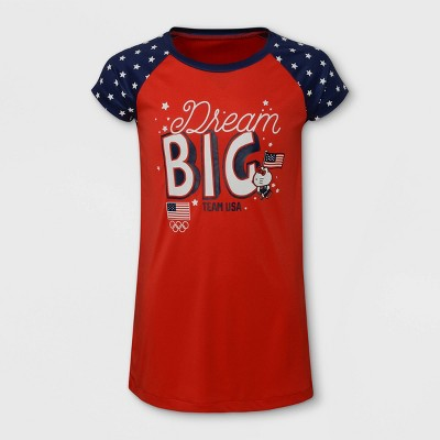 Girls' United States Olympic Team x Hello Kitty Gown with Mask Pajama Set