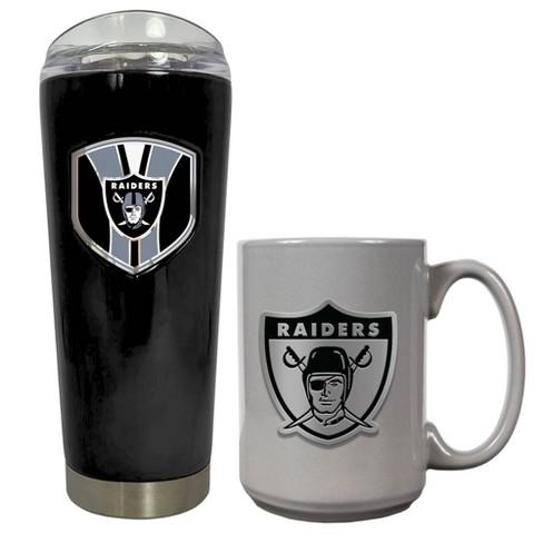 NFL Oakland Raiders Roadie Tumbler and Mug Set - image 1 of 1