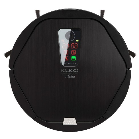 iClebo Alpha Robot Vacuum Cleaner - Black - image 1 of 8