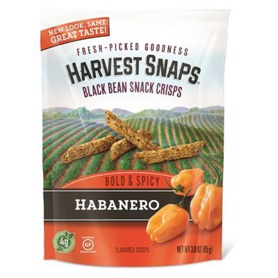 Veggie & Grain Chips: Harvest Snaps Black Bean