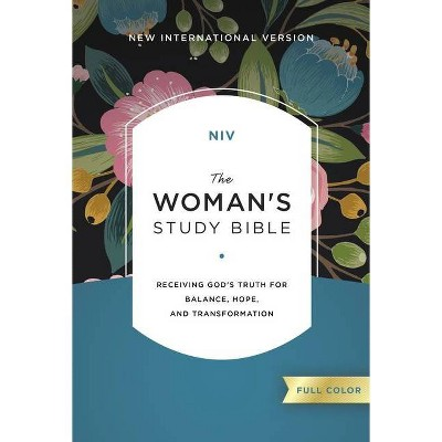 NIV, the Woman's Study Bible, Hardcover, Full-Color - by  Thomas Nelson