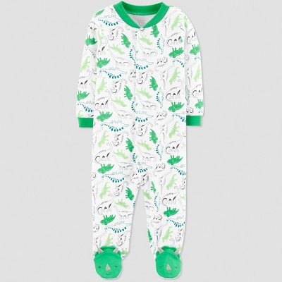 Baby Boys' Dino Sleep 'N Play - Just One You® made by carter's Green/White 6M