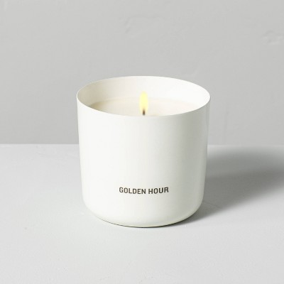 9oz Golden Hour Powder Coated Metal Seasonal Candle - Hearth & Hand™ with Magnolia