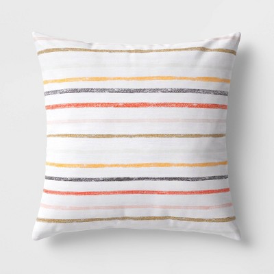 Square Striped Pillow - Room Essentials™