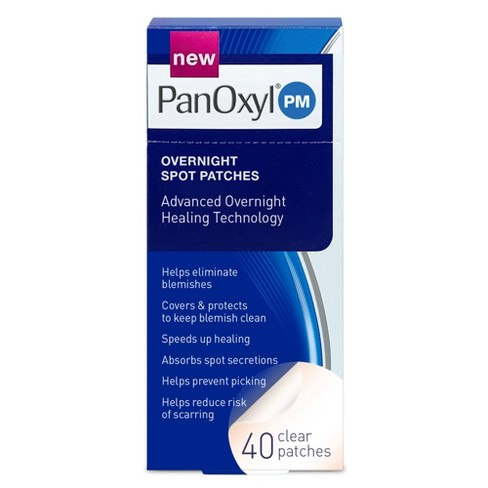 PanOxyl Overnight Spot Patches - 40ct - image 1 of 4
