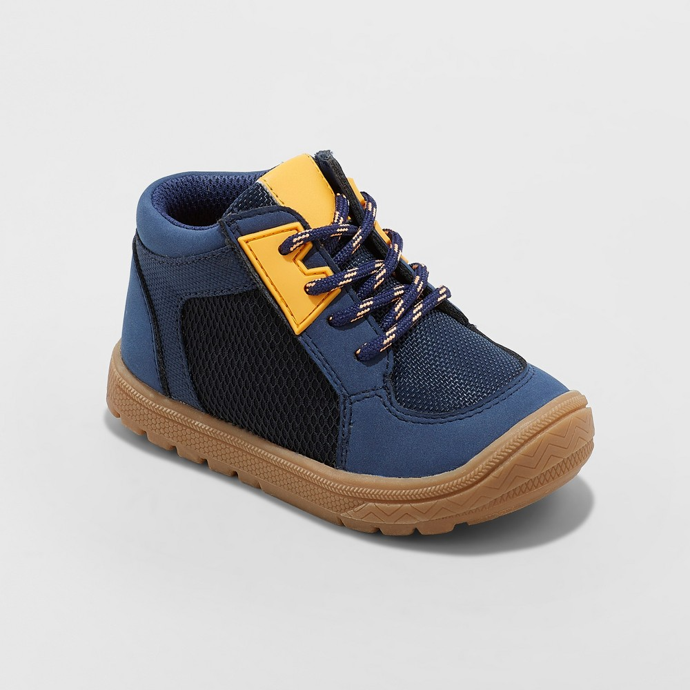 Toddler Boys' Mick Sneakers - Cat & Jack Navy 9, Blue