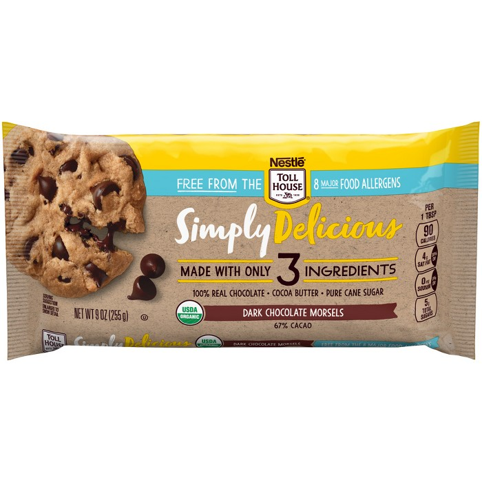 Nestle Toll House Allergen Free Simply Delicious Dark - 9oz - image 1 of 4