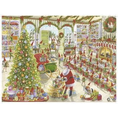 Ravensburger Santa's Ready 500pc puzzle