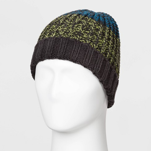 Men's Marled Colorblock Waffle Beanie - Original Use™ One Size - image 1 of 1