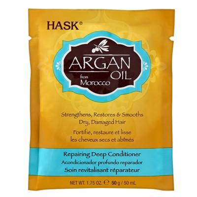 Shampoo & Conditioner: Hask Argan Oil Repairing Deep Conditioner