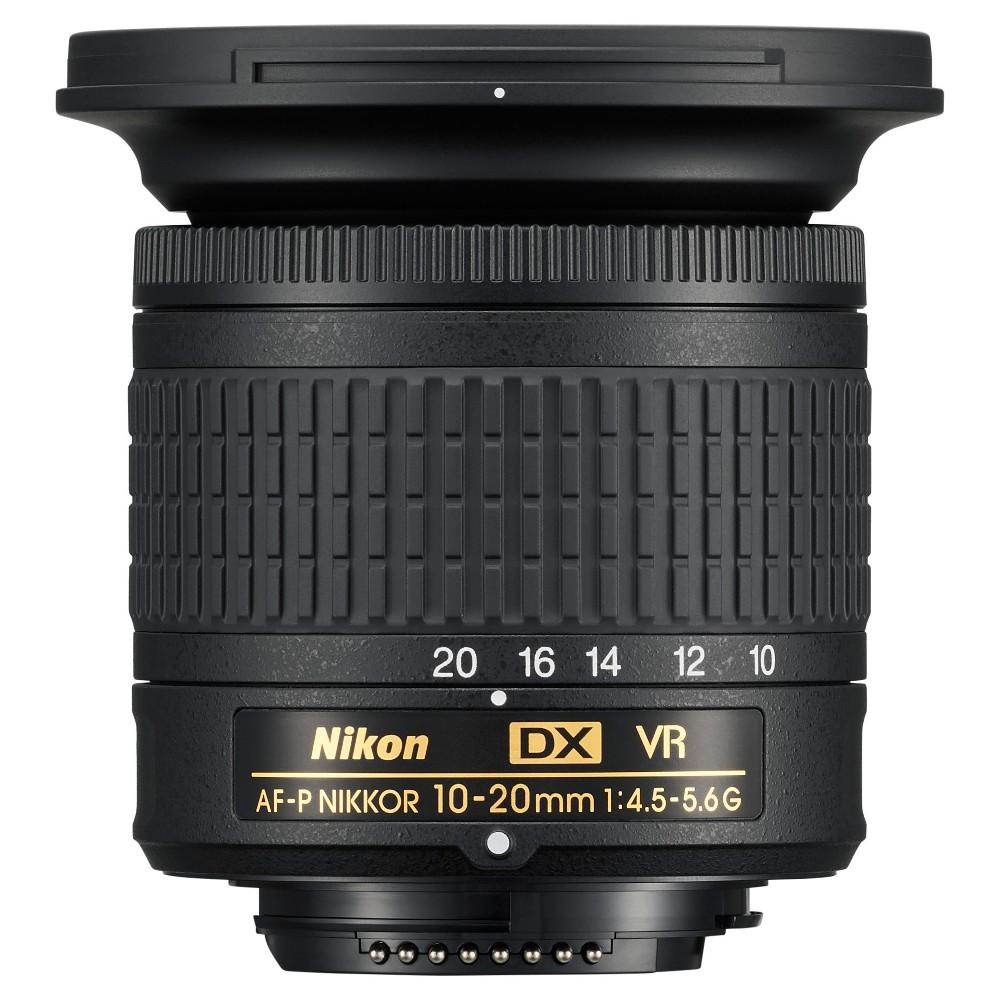 Nikon AF-P DX Nikkor 10-20mm f/4.5-5.6G VR - Black (20067)