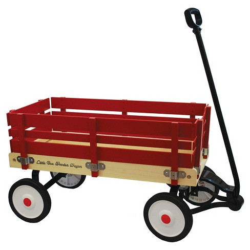 "Grand Forward Little Box 34"" Wooden Wagon - image 1 of 1"