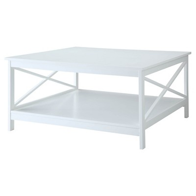 Oxford 36 Inch Square Coffee Table White Breighton Home Target