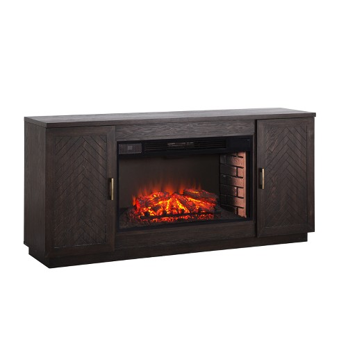 Lantoni 33 Widescreen Electric Fireplace Tv Stand White Lime